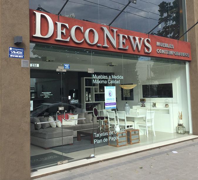 Frente deco news for Mueblerias en la plata